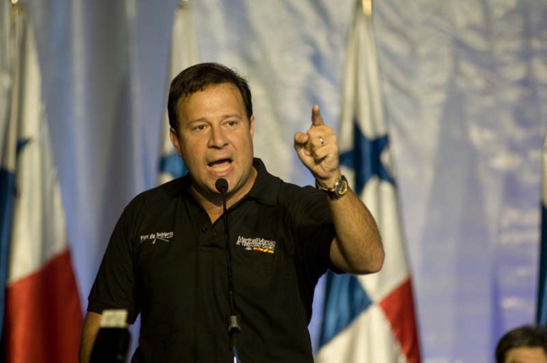 Juan Carlos Varela, presidente de Panamá