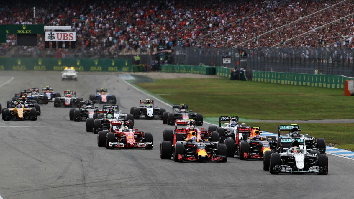 La Fórmula 1 no visitará el circuito de Hockenheim la temporada que viene. (Getty)