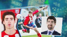 El ex futbolista, Javier Arizmendi, ahora trabaja para la gestora de fondos Tressis