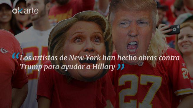 El mundo del arte neoyorkino quiere a Hillary