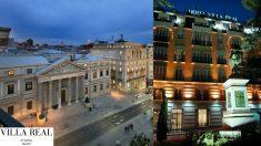Desde la terraza del Hotel Villareal de Madrid se puede ver el Congreso de los Diputados. A la derecha, la fachada del hotel donde falleció la que fue alcaldesa de Valencia, Rita Barberá. Foto: HOTEL VILLAREAL