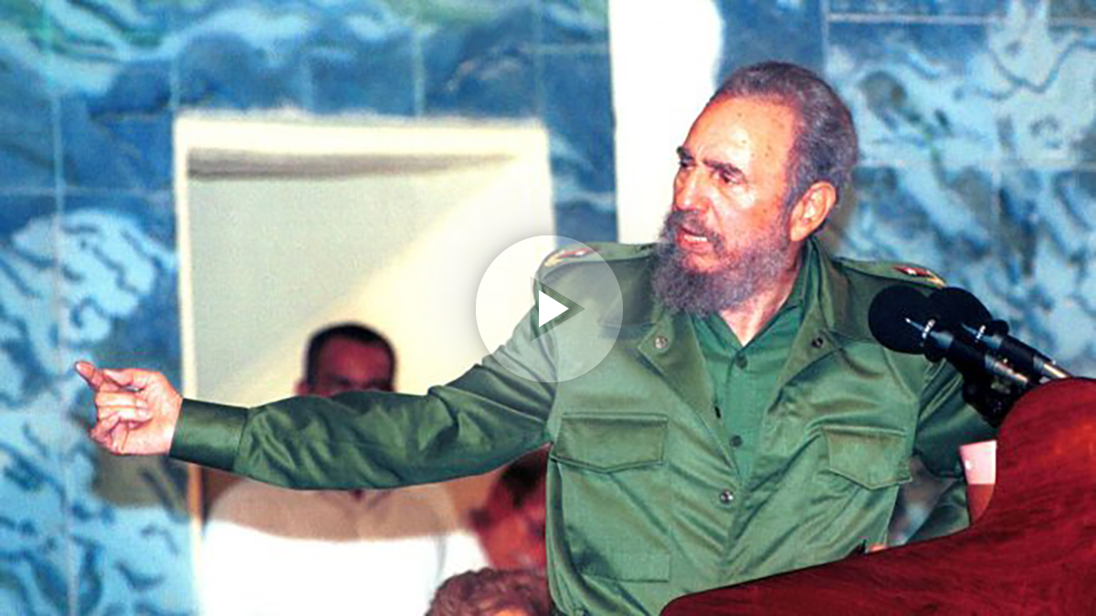 Fidel Castro en una imagen de archivo (Foto: Getty).