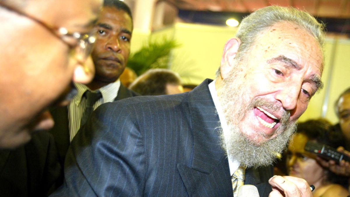 El ex dictador cubano Fidel Castro (Foto: Getty).