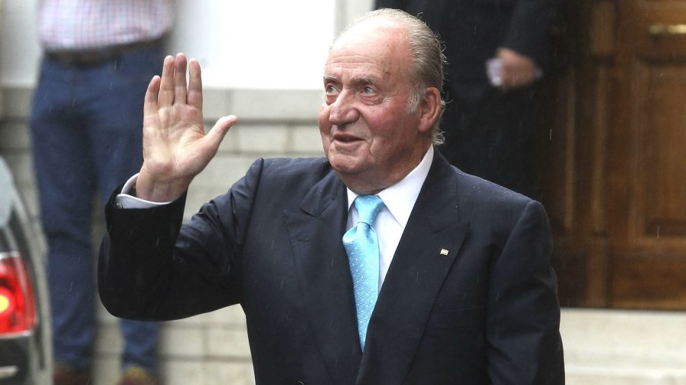 El Rey Juan Carlos. (Foto: Getty)