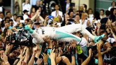 Nico Rosberg, nuevo campeón del mundo (Getty)