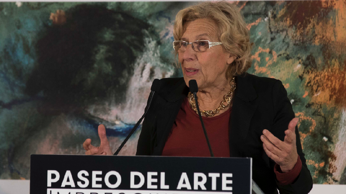 La alcaldesa de Madrid de 72 años, Manuela Carmena. (Foto: Madrid)