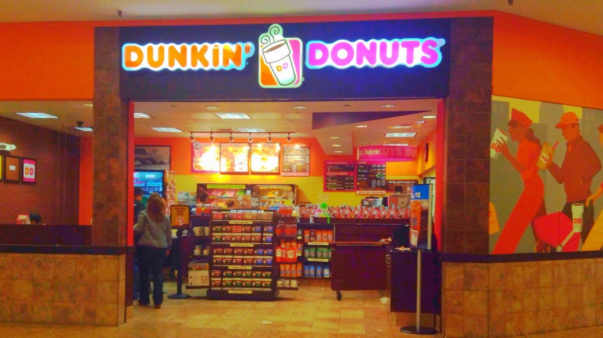 Establecimiento de Dunkin Donuts en Estados Unidos.