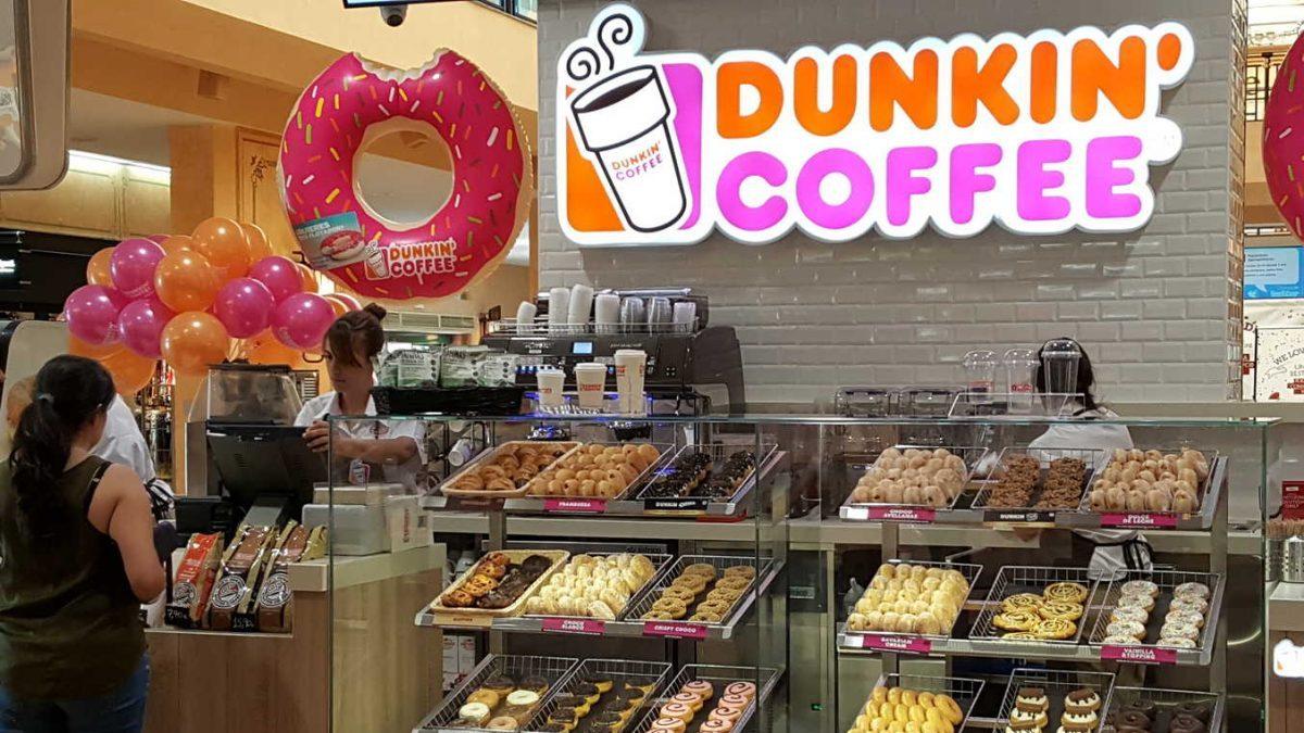 Establecimiento de Dunkin Coffee en Málaga