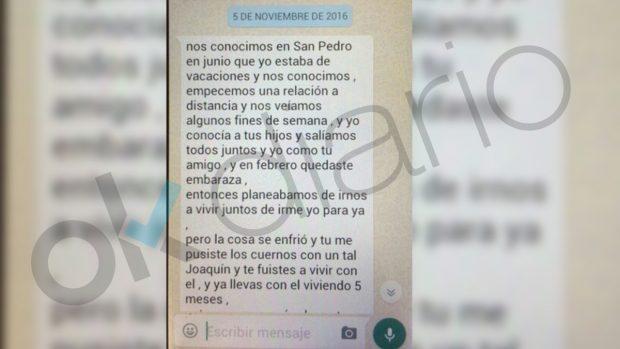 Los whatsapp de los detenidos por la compraventa de un bebé por 10.000 €