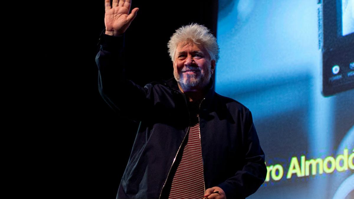 El director de cine Pedro Almodóvar. (Foto: GETTYIMAGES)