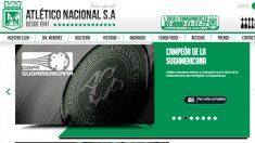Atlético Nacional publicó un comunicado en su web.