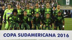 El Chapecoense en la semifinal de la Copa Sudamericana. (Foto: AFP)