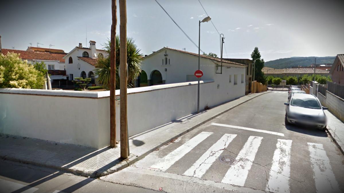 Una calle de la localidad barcelonesa de Llinars del Vallès.