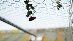 Homenaje a los jugadores en el estadio del Chapecoense. (Foto: Getty)
