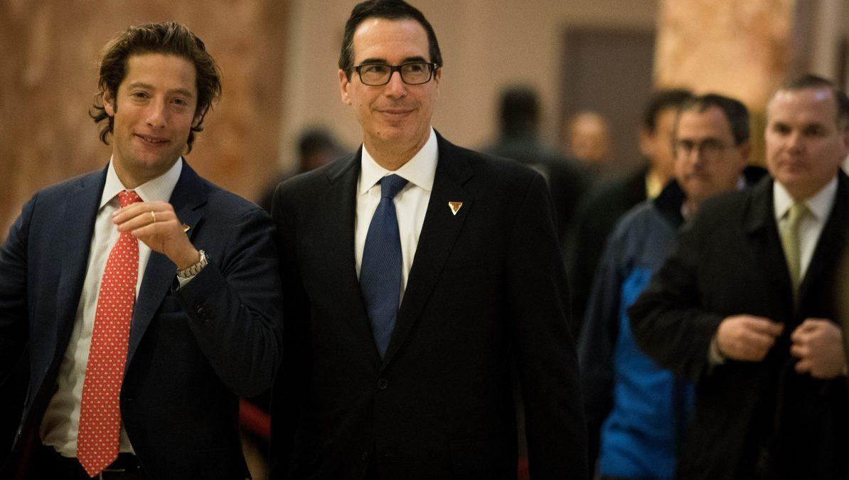 Steven Mnuchin, nuevo secretario del Tesoro de Donald Trump (Foto: Getty)