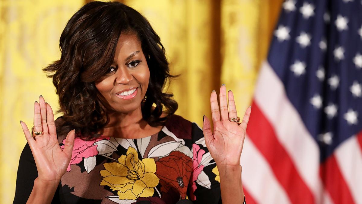 Michelle Obama, ex Primera Dama de Estados Unidos. (Foto: Getty)