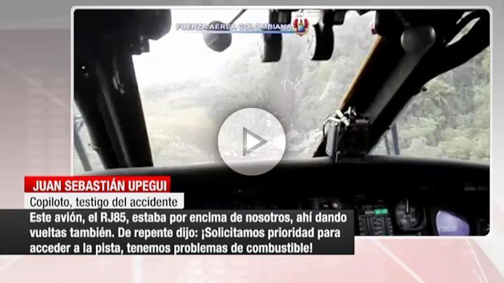 El piloto de Avianca relata los instantes previos a la tragedia.