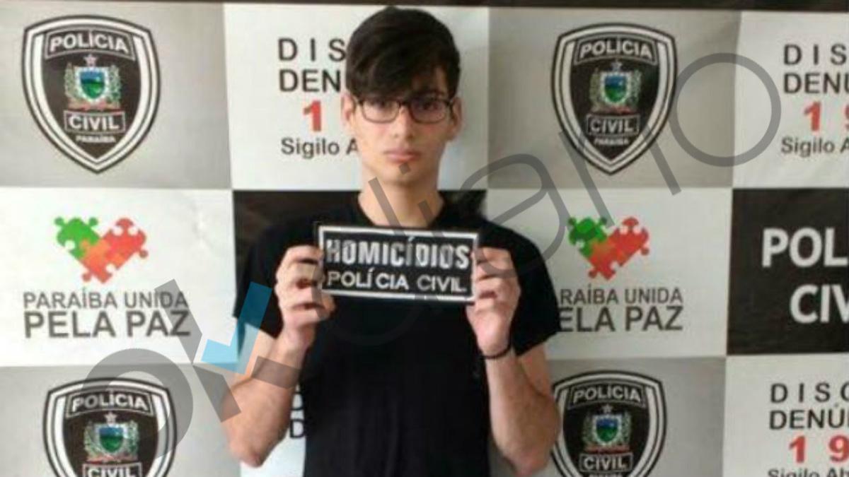 Marvin Henriques Correia posando para la ficha policial en Brasil. (OKD)