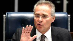 Renan Calheiros en una reciente imagen (Foto: aFP).