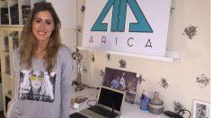 Alejandra Fernández fundadora de la marca de moda Arica.