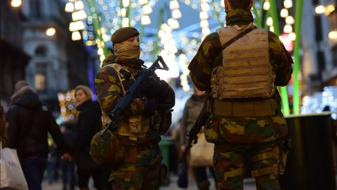 Navidad en Bruselas. (Foto: AFP)