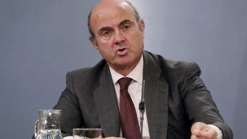 El ministro de Economía, Industria y Competitividad, Luis de Guindos. (Foto: EFE)