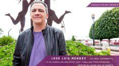 El fundador y candidato de Podemos en Fuerteventura José Luis Méndez Altozano.