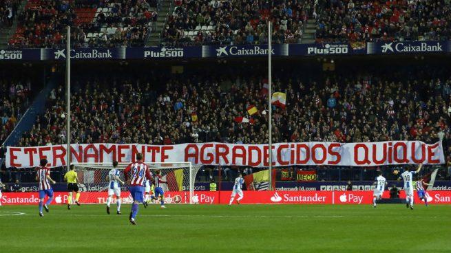 El detallazo de la afición del Atlético con Quique Sánchez Flores