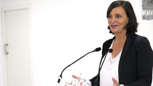 La diputada de Podemos Carolina Bescansa (Foto. EFE).