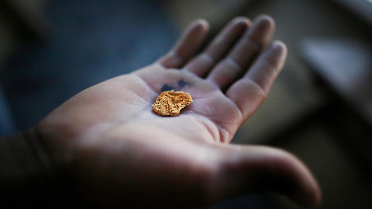 Oro procedente de una mina en Perú. (Foto: Getty)