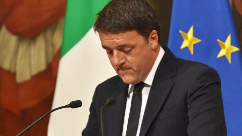 Mateo Renzi anuncia su dimisión (Foto: AFP)