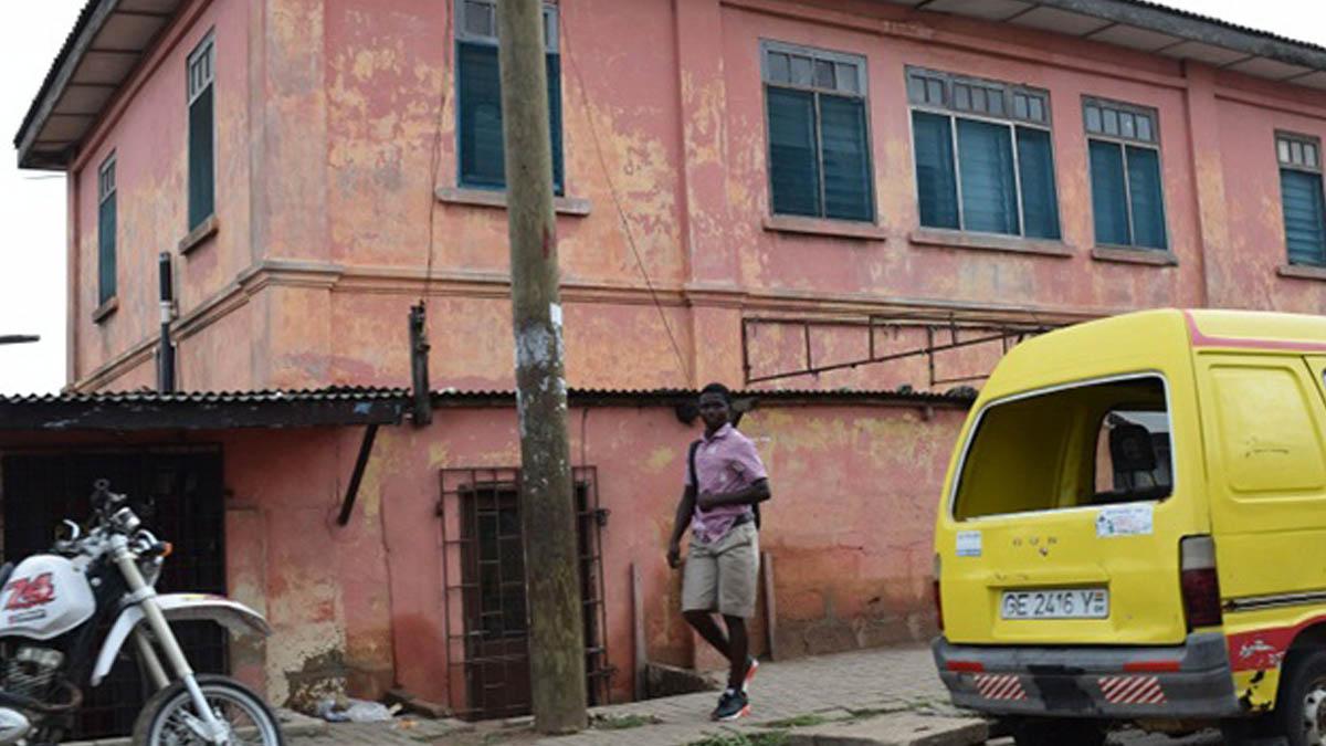 Falsa embajada de Estados Unidos en Acra, capital de Ghana (Departamento de Estado)