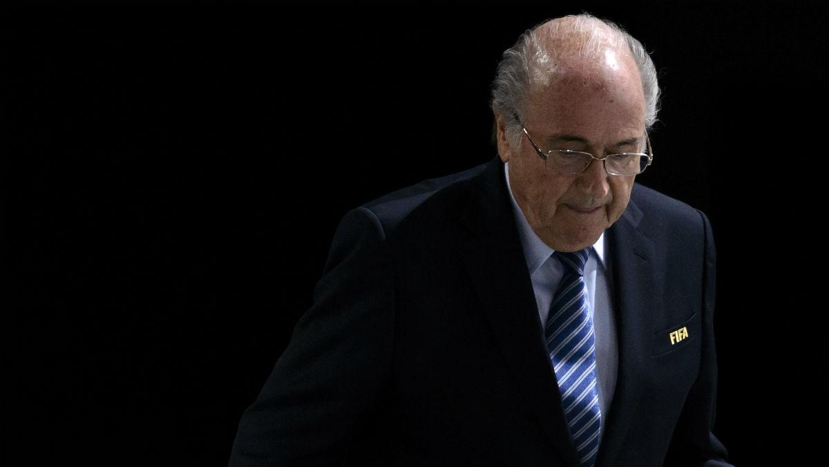 El TAS sanciona a Joseph Blatter. (AFP)