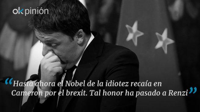 Renzi: game over
