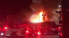 Incendio de una discoteca en Oakland.