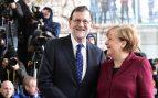 Rajoy felicita a Angela Merkel por su victoria en las elecciones alemanas