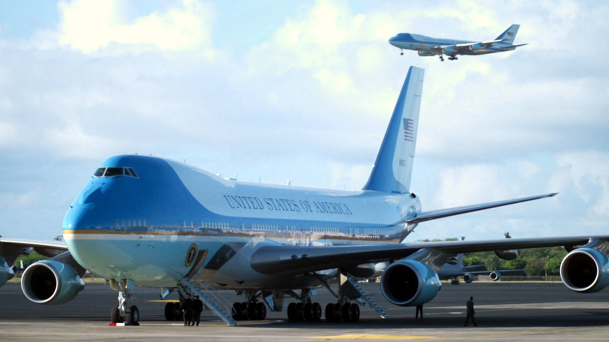 Los dos Air Force One actuales.