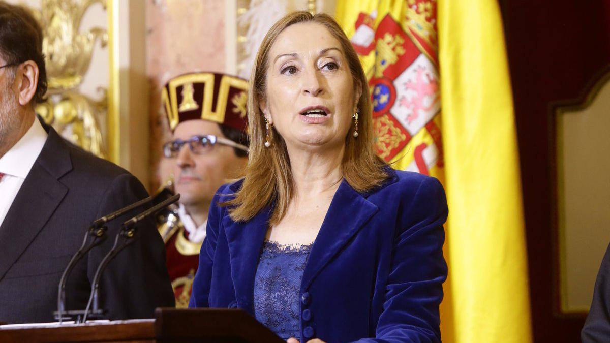Ana Pastor, presidenta del Congreso de los Diputados. (Foto: Congreso de los Diputados)
