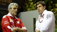 Arrivabene tiene claro que Mercedes será igual de fuerte en 2017 a pesar de la baja de Nico Rosberg. (Getty)