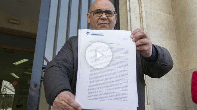 Manuel González Bauza, concejal de medioambiente de Cádiz.