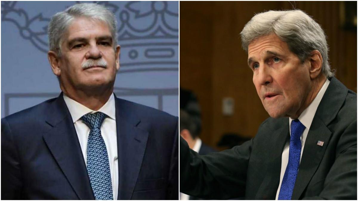 Alfonso Dastis y John Kerry