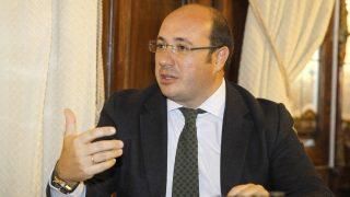 El presidente de Murcia, Pedro Antonio Sánchez Foto: EFE)