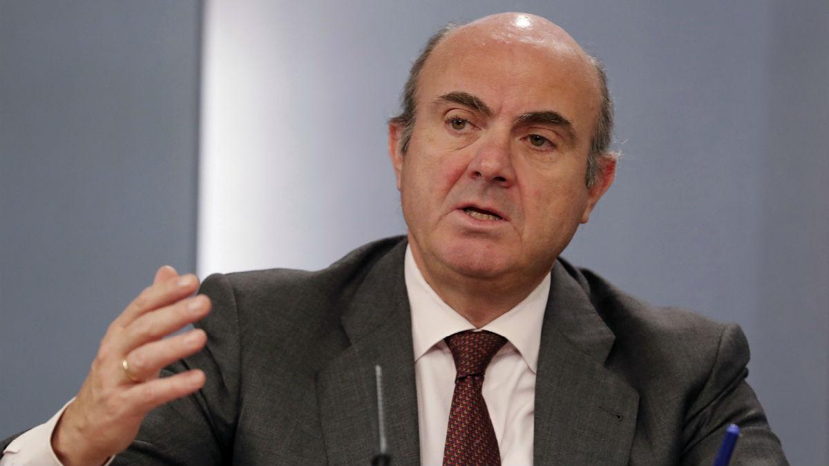 Luis de Guindos. (Foto: EFE).