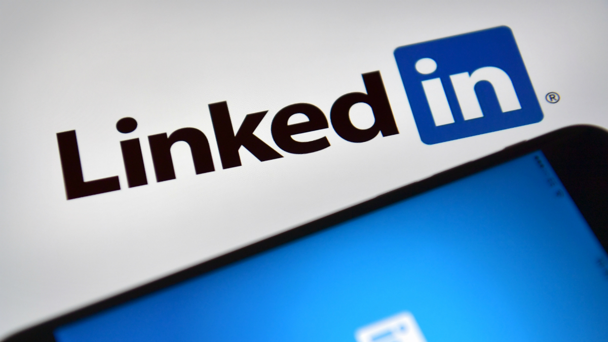 Logotipo de LinkedIN (Foto: GETTY).