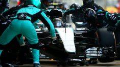 Los equipos de Fórmula 1 han tardado de media 2,15 segundos en cambiar las ruedas a los monoplazas esta temporada. (Getty)