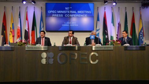 Encuentro de la OPEP en junio de 2015 (Foto: GETTY).