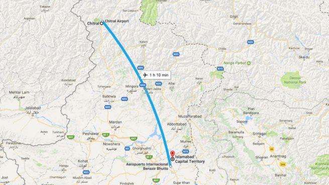 Un avión se estrella en Pakistán con 48 personas a bordo y no hay supervivientes