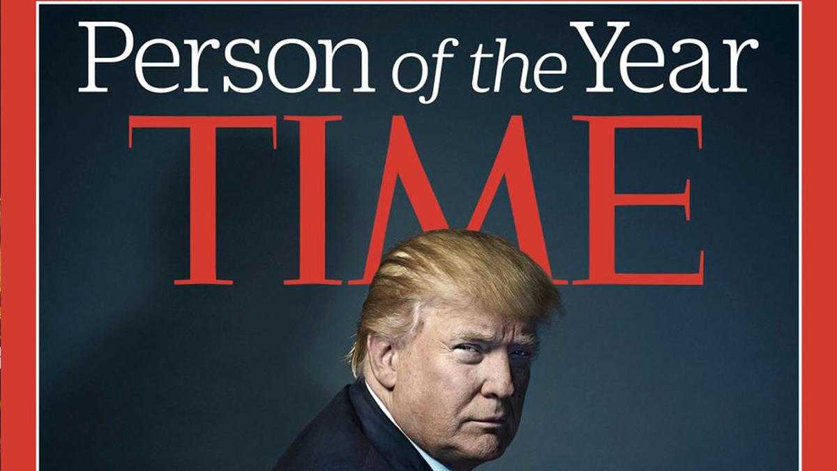 Donald Trump, 'Persona del Año' para la revista 'Time'.