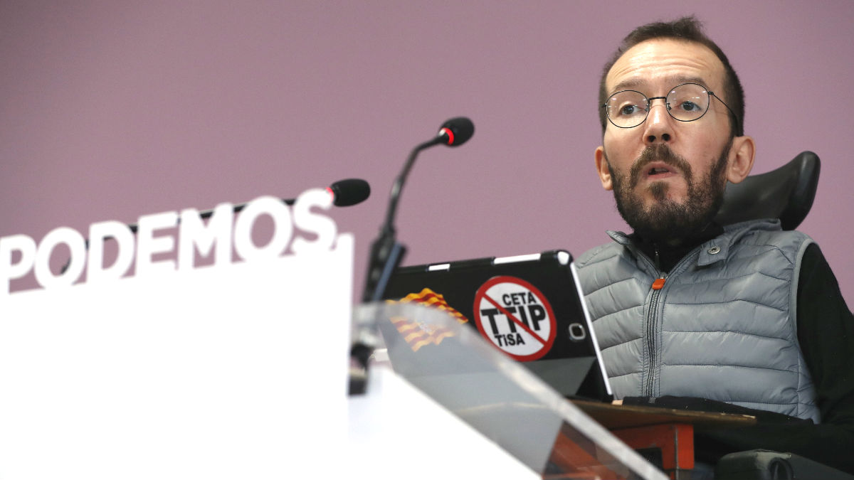 Pablo Echenique. (Foto: EFE)