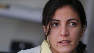 Rosa María Payá, hija del opositor cubano fallecido Oswaldo Payá.
